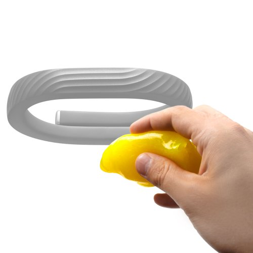 Duragadget Home And Office Yellow 'Magic Clean' Dvr Non-Sticky Cleansing Gel For Jawbone Up24 (Small, Medium, Large)