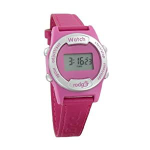 Rodger Vibrating Children's Watch - Pink