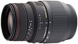 Sigma AF 70-300mm f/4-5.6 DG APO Macro Telephoto Zoom Lens for Sony DSLR Camera