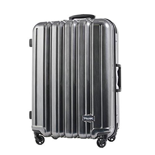SPALDING スーツケース スポルディング TSAロック サブシェルロックシステム ハードキャリー 50mm大型軽量キャスター 105L SP-0676-74 (ガンメタへアライン)