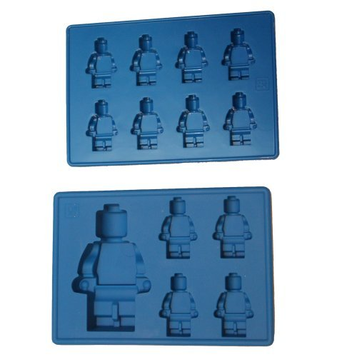 Building Brick Minifigures 2 Tray Set