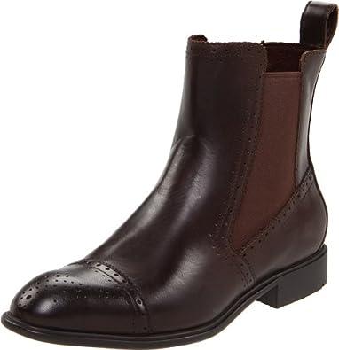 Amazon.com: Rockport Women's Lola Brogue Chelsea Ankle