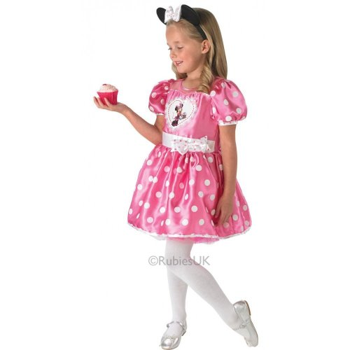Minnie Pink Cupcake Costume - Kids - Medium 5-6 Years