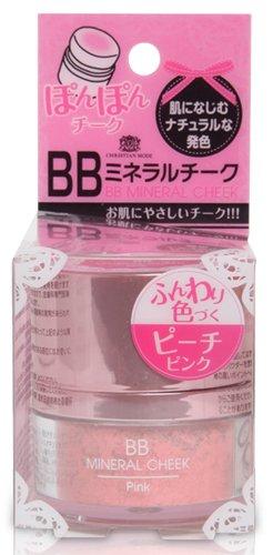 BBミネラルチーク ピンク