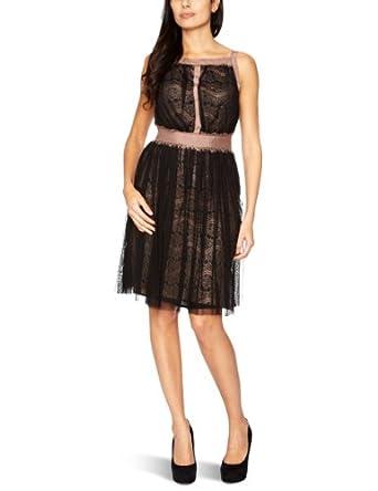 Darling Ginny Strappy Women's Dress Mocha Size 14
