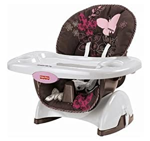 fisher price space saver high chair mocha butterfly baby
