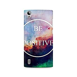 Ebby Be Positive Premium Printed Case For Vivo Y15