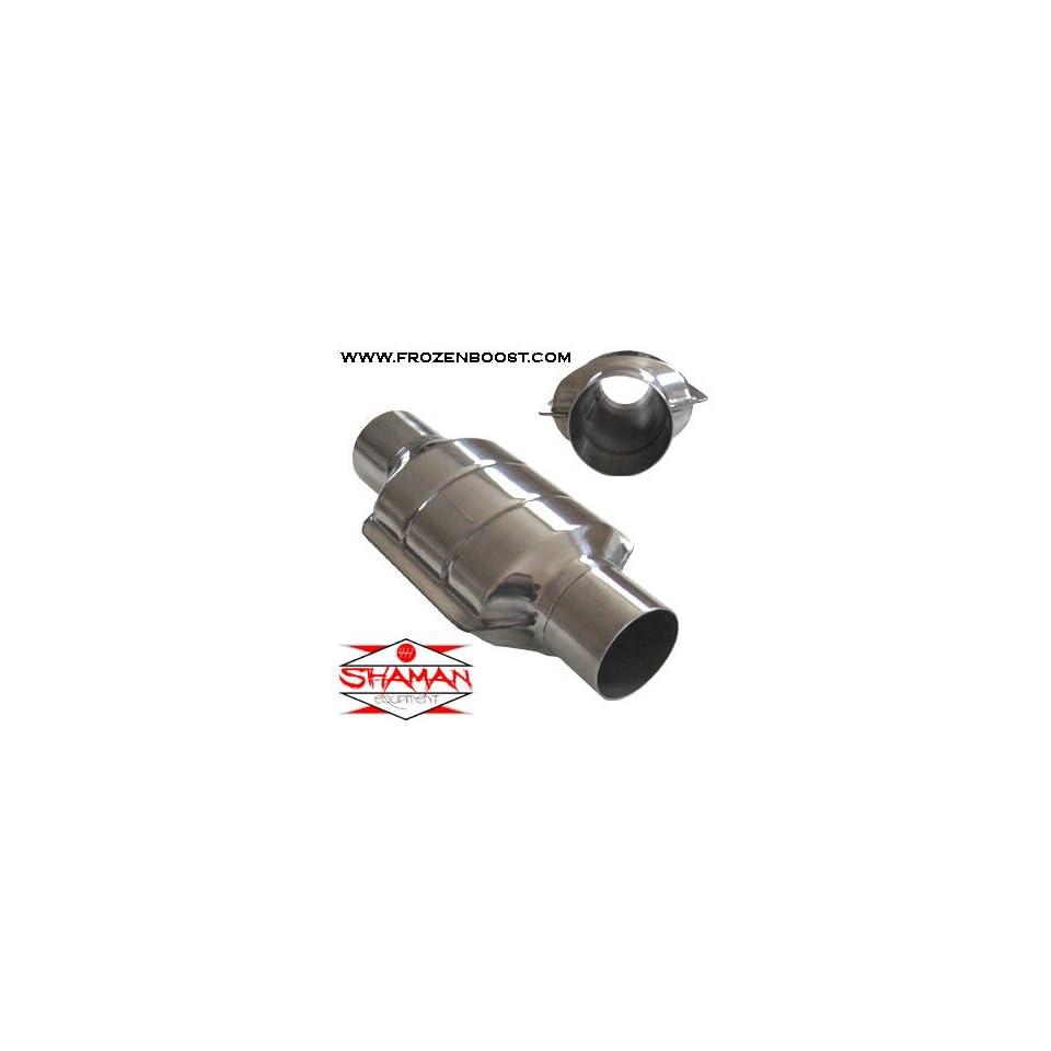 AllFlow Non Catalytic Converter Stainless Steel 2