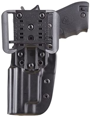Blade Tech OWB CZ SP01 Holster with Dropped and Offset Adjustable Sting Ray (Black)