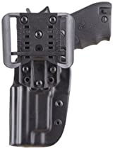 Blade Tech OWB Holster for Smith and Wesson Pro Series M and P 9 Shield with Dropped and Offset Adjustable Sting Ray Loop (Black)