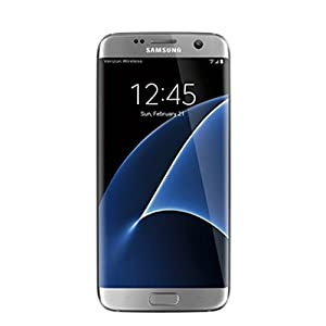 Samsung Galaxy GS7 Edge, Silver 32GB (Verizon Wireless)