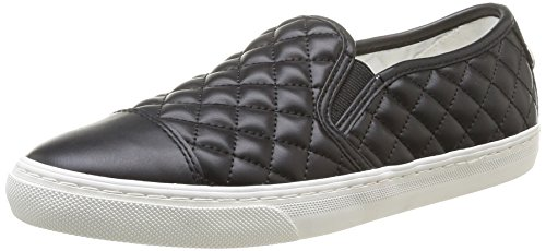 Geox D New Club C Scarpe Low-Top, Donna, Negro (Black), 40