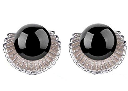 lieberpaar-damen-925-sterling-silber-shell-norma-ohrstecker-hochzeit-ohrringe-schwarz