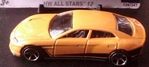 Hot Wheels - Lamborghini Estoque (Yellow) - HW All Stars 12 - 8/10 ~ 128/247 [Scale 1:64] - 1
