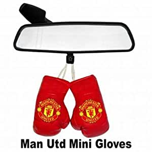 Man Utd Mini Boxing Gloves