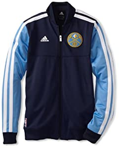 Denver Nuggets adidas Home Weekend 2012-2013 Authentic On-Court Jacket - Navy by adidas
