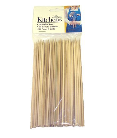 New Fox Run Brands Bamboo Skewers, 6-Inch