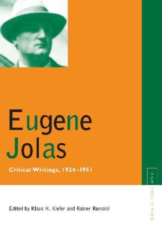 Eugene Jolas: Critical Writings, 1924-1951 (Avant-Garde & Modernism Collection), Eugene Jolas
