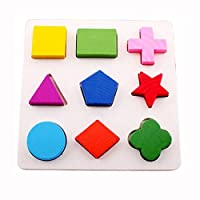 Joylive Kids Baby Geometry Block Puzzle Shape Recognition Early Learning Educational Toy by Joylive