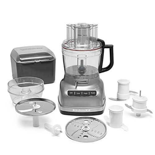 Kitchenaid Kfp1133cu 11-cup Food Processor Exact Slice System Dicing Silver