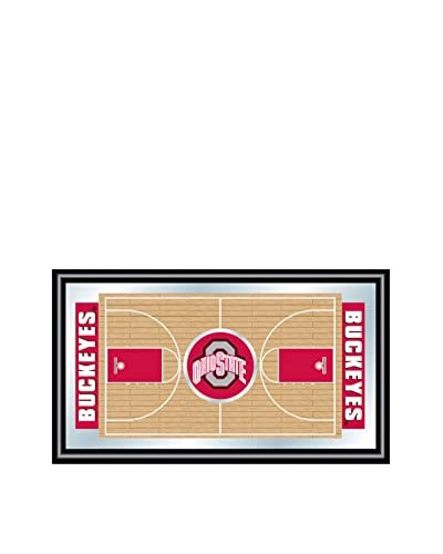 Trademark Global The Ohio State Framed Basketball Court Mirror