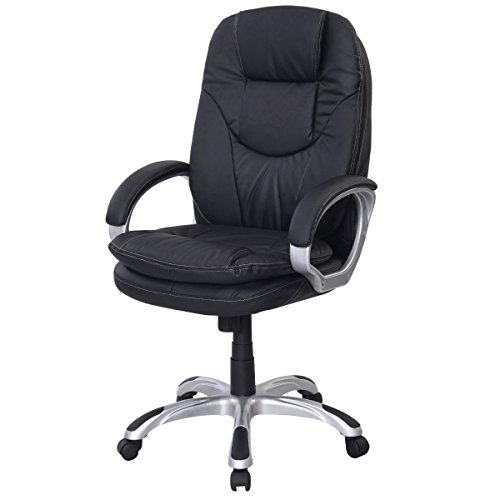 PU Leather Ergonomic Chair Office Task Executive Computer De
