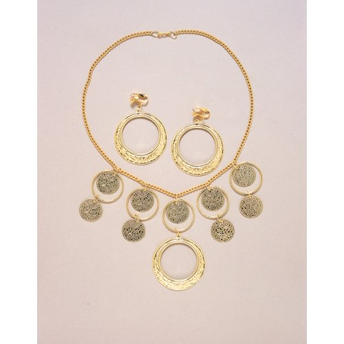 Gypsy Jewelry Set, One-Size, Gold