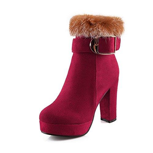 balamasa-girls-chunky-heels-fur-ornament-platform-red-frosted-boots-45-uk