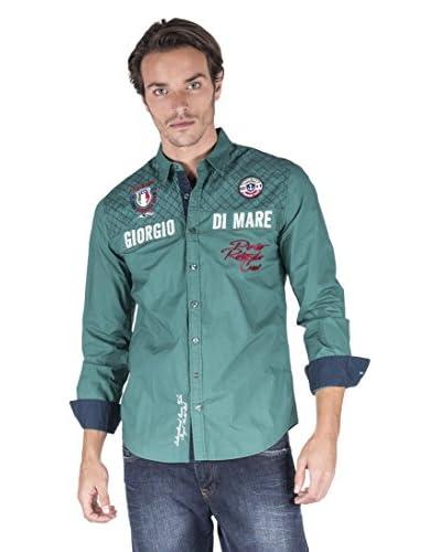 Giorgio Di Mare Camicia Uomo 13017 [Verde]
