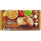 <お得な24個パック>クリーム玄米ブラン グラノーラ&ビターキャラメル 2枚×2袋入り×24個