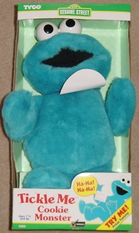 Tickle Me Cookie Monster - Talking Plush