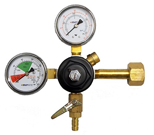 New TapRite E-3741BR - Primary Co2 Beer Regulator for Home Dispense (Co2 Gauge For Kegerator compare prices)