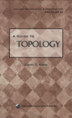 Image for A Guide to Topology (Dolciani Mathematical Expositions)