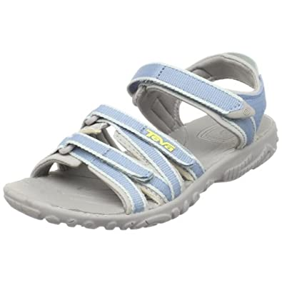 Teva Tirra G`s 9039, Mädchen, Sandalen/Outdoor-Sandalen, Blau  (blue shadow 981), EU 25  (UK 7)  (US 8)