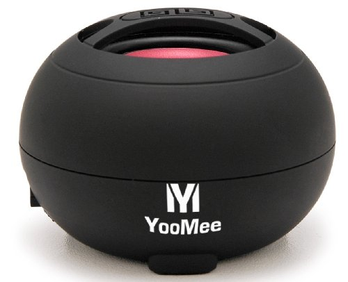 Yoomee Black Beat51 Portable Travel-Size Mini Speaker For Apple Iphone 4G, Ipad, Ipod Touch, Other Mp3 Players, Cellular Phones, Pc Computers, And Tablet Pc (Black)