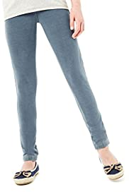 Cotton Rich Plain Denim Jeggings [T74-3438V-S]