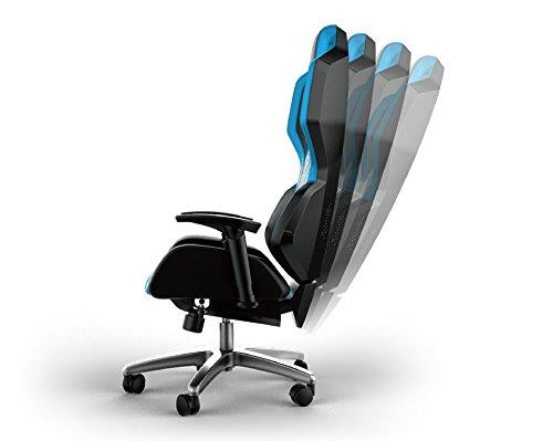 E Blue Auroza Gaming Chair High Grade PU Leather PC Racing