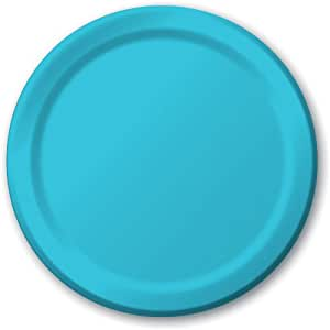 "Charmed Celebrations Bermuda Blue 9"" Paper Plates"