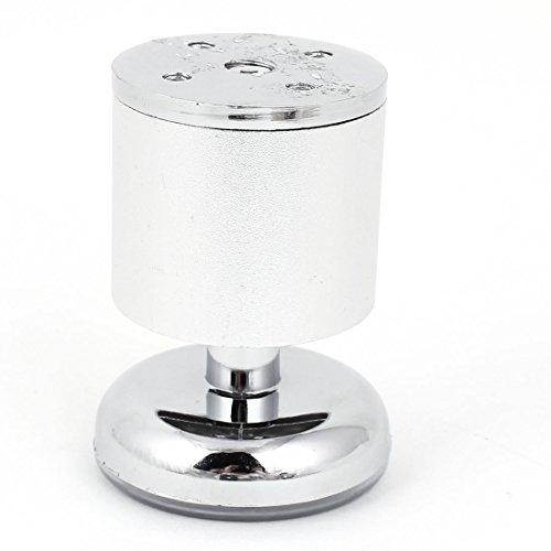 Möbel Schrank Sofa Tisch 8x5cm verstellbare Aluminium Beine Füße runden Basis de