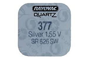 Rayovac- Button Cell Watch Battery - Type 377