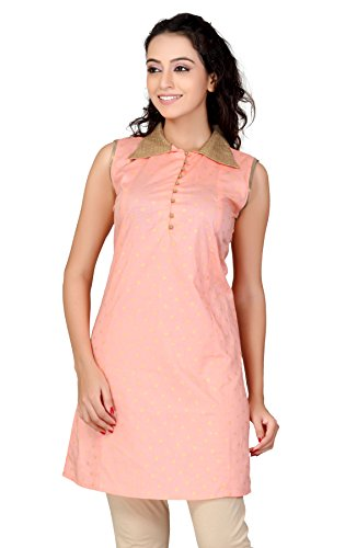 Lifestyle Lifestyle Retail Women Cotton Kurti (Multicolor)