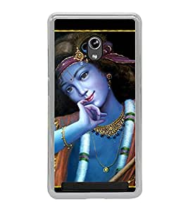 Lord Krishna 2D Hard Polycarbonate Designer Back Case Cover for Asus Zenfone 5 A501CG :: Asus Zenfone 5 Intel Atom Z2520 :: Asus Zenfone 5 Intel Atom Z2560