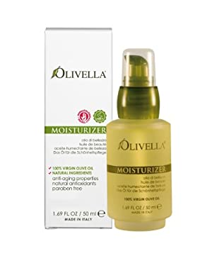 Olivella All Natural Virgin Olive Oil Moisturizer From Italy  1.69 Fluid