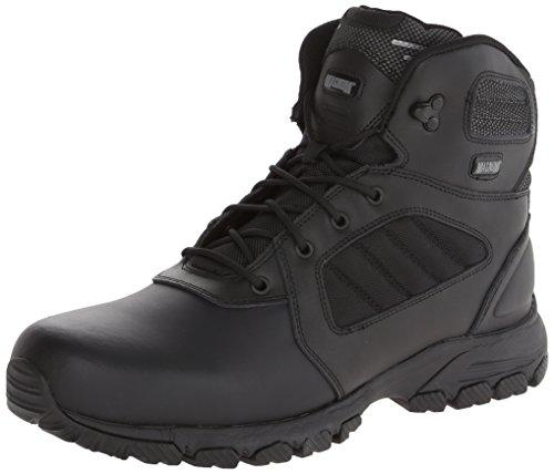 Magnum Men's Response III 6.0 Slip Resistant Work Boot,Black