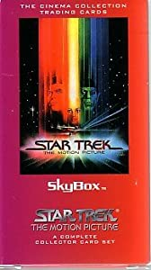 """Star Trek """"THE MOTION PICTURE"""" SKYBOX Cinema Collection Trading Cards - A Complete Collector Card Set"""