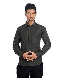 baaamboos Black Formal & Party Wear Shirt (42)