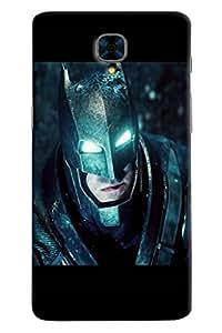 Omnam Batman With Lighting Eyes Printed Designer Back Case For OnePlus Three
