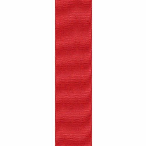 Review Offray Grosgrain Craft Ribbon, 3/8-Inch x 18-Feet, Red