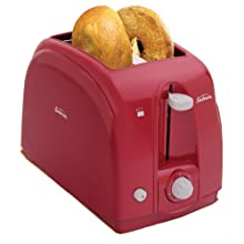 Sunbeam 3819 2-Slice Wide Slot Toaster, Red