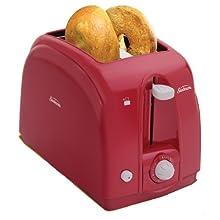 Sunbeam 3819 2-Slice Wide Slot Toaster, Red